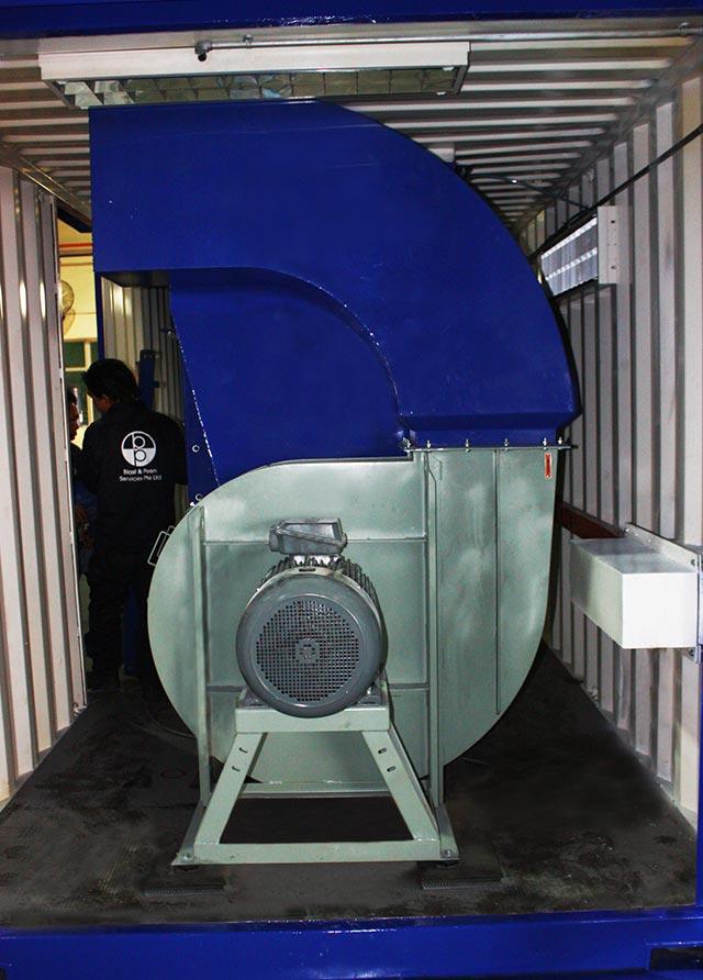 blasting-ventilation